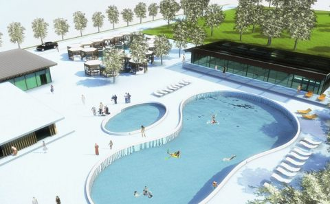 Thermal Baths and Spa Architecture Project Proposal in Bucharest
