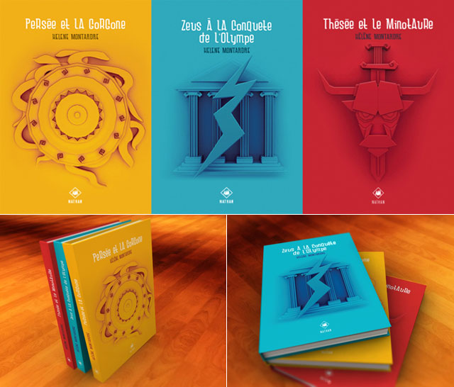 Creative Book Covers For School : Print inspiration creative book cover designs
